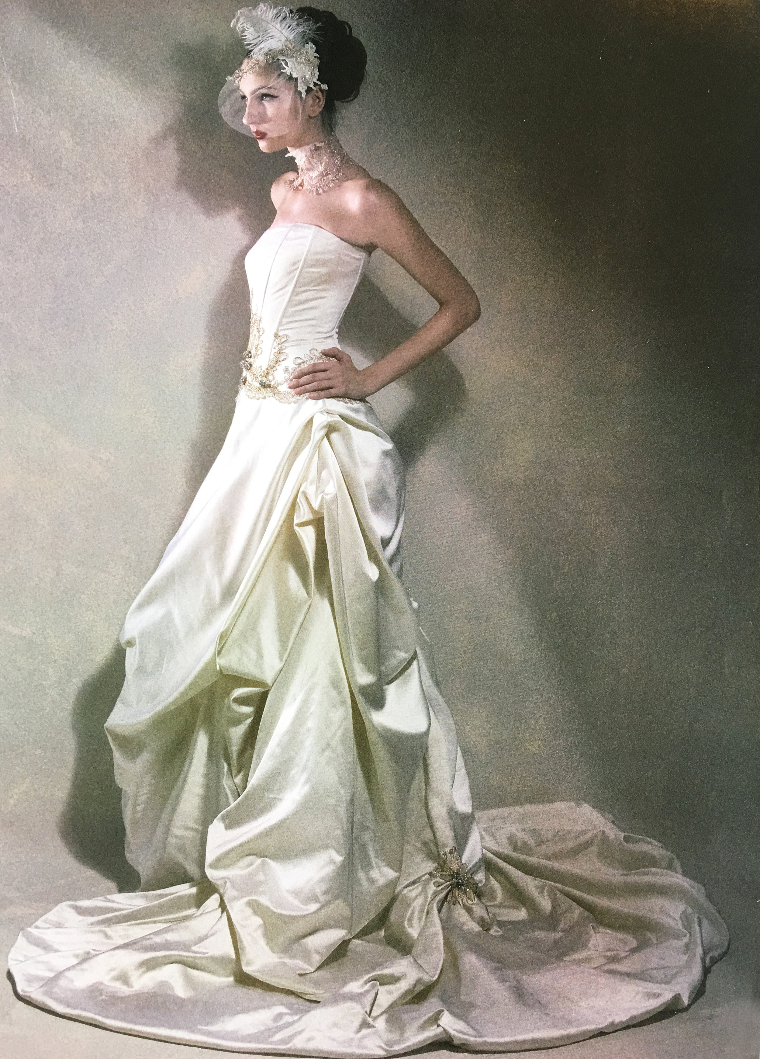 - In 2007, Amanda expanded and opened her second boutique in the heart of the city. This also took a slight shift in direction, as brides began exploring a more simplistic, but detailed design as shown in the ad campaign here. This campaign was widely received for its bold use of details; a combination of design elements, yet portraying a rather clean and elegant look at the same time.