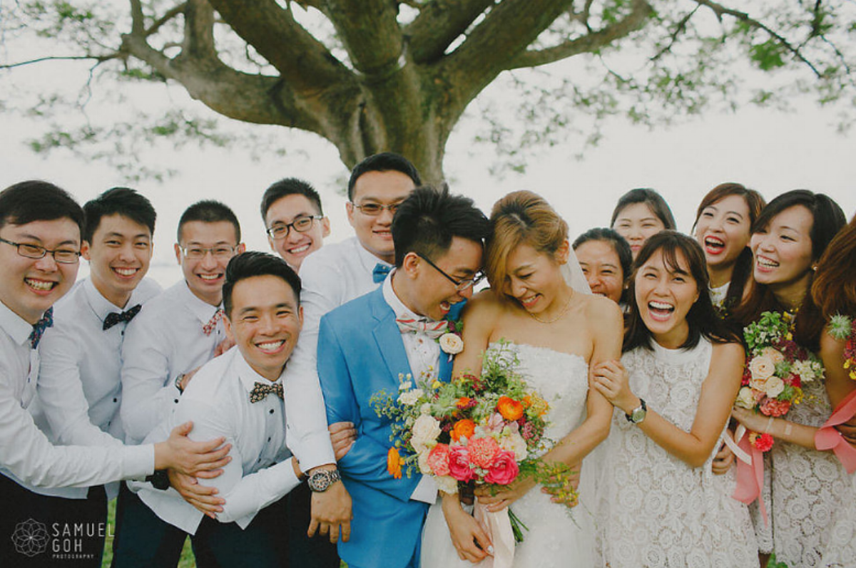 Wedding day of Jocelyn and Eugene by Samuel Goh Photography