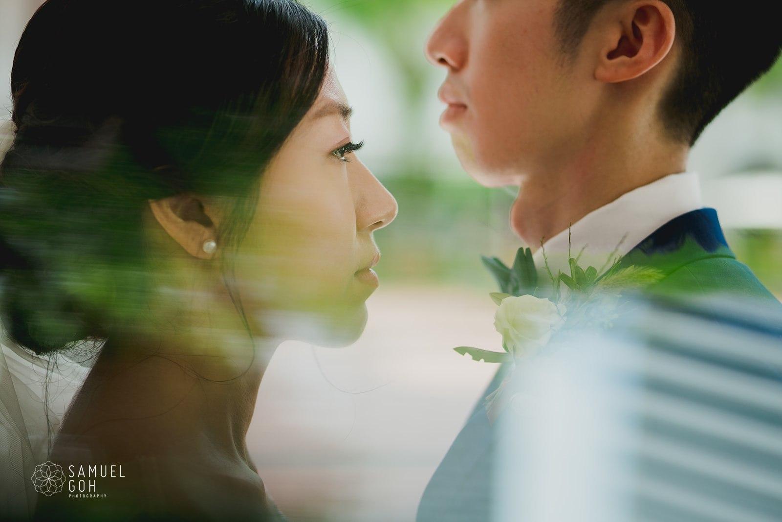 Wedding day of Li Han and Makoto