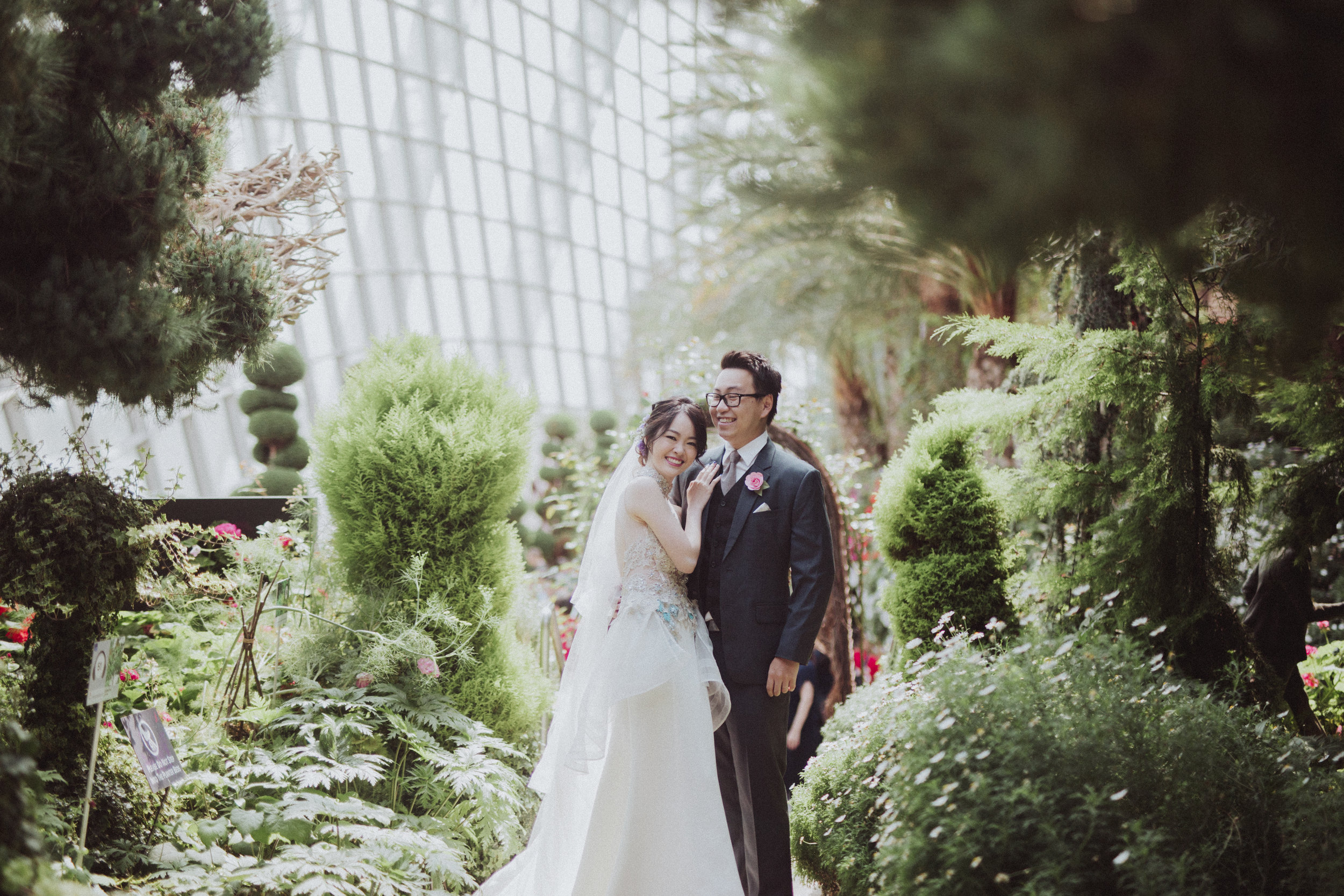 Jasmine + Julian's Wedding Day  (photographed by AndroidsinBoots)