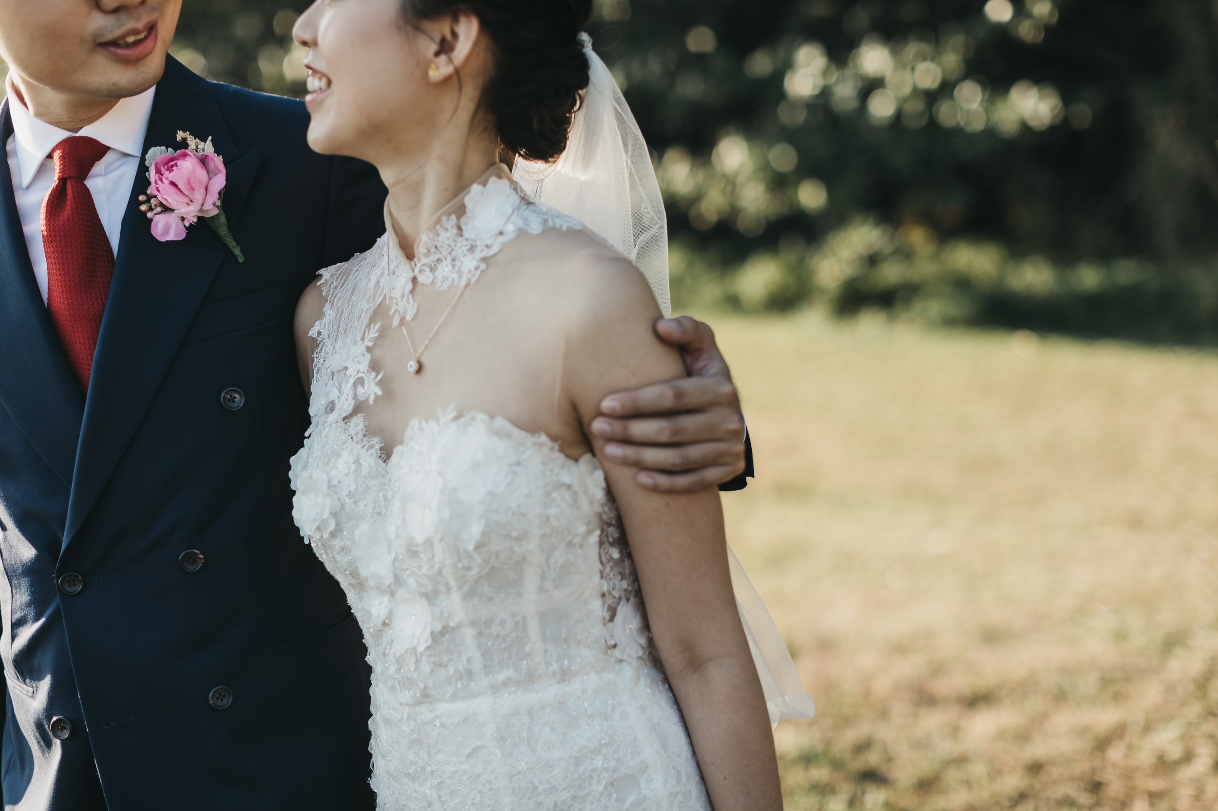 Cecilia + Aaron's Wedding Day  (Photographed by Tinydot Photography)