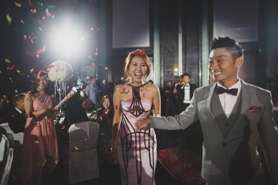 Kewei + Alfred's Wedding Day