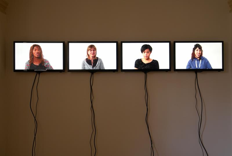 Anne Brodie, Installation view 'The Conversation', 2014