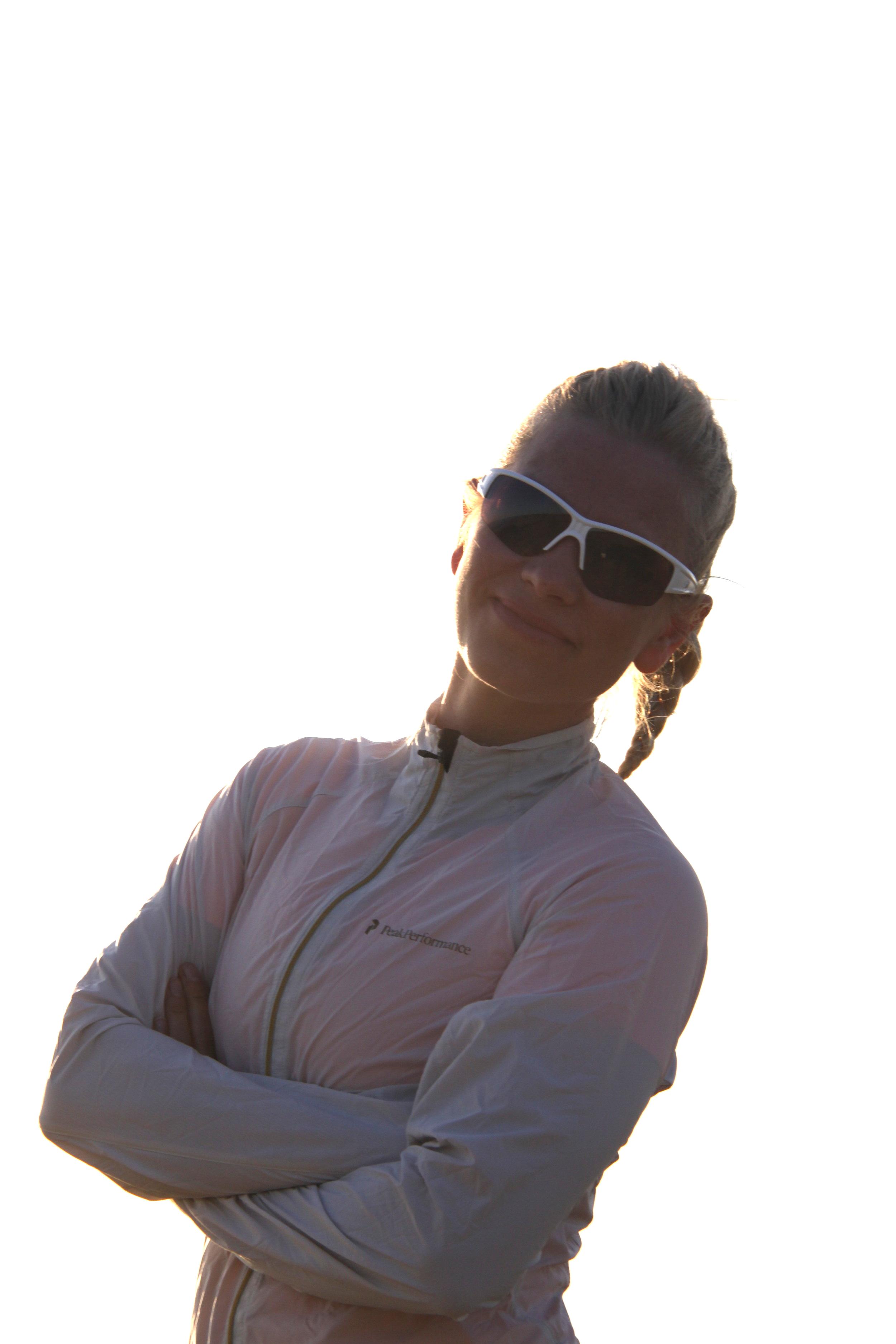 Blogg LENE G. Sportsbriller. ph: Jonah Solheim