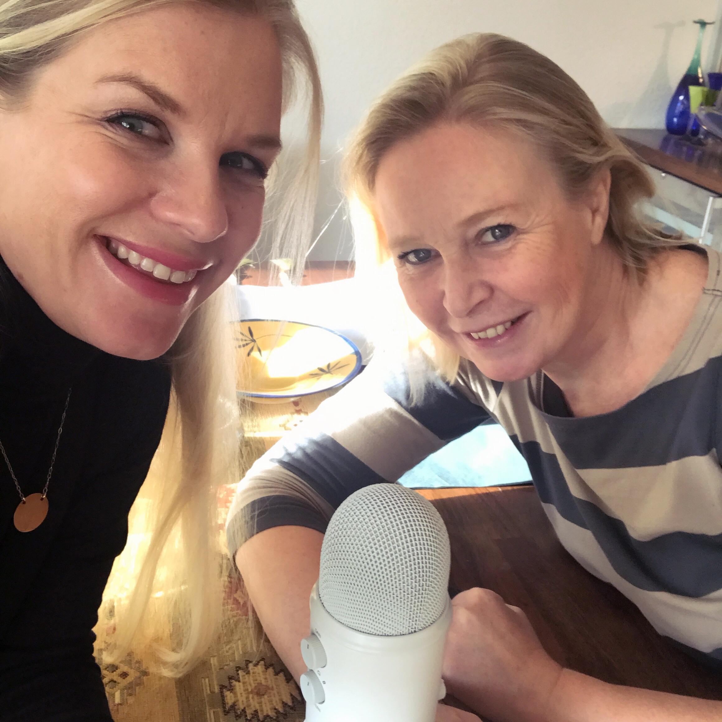 podcast -stylist med grønt hjerte