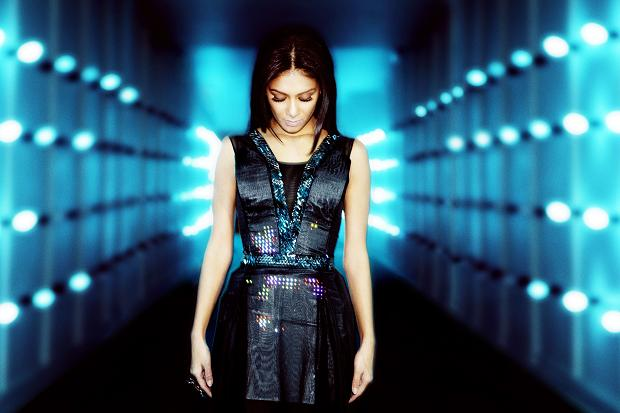 CuteCircuit  has designed the World's first Haute Couture Twitter Dress worn byNicole Scherzinger at the launch event at Battersea Power Station in London.