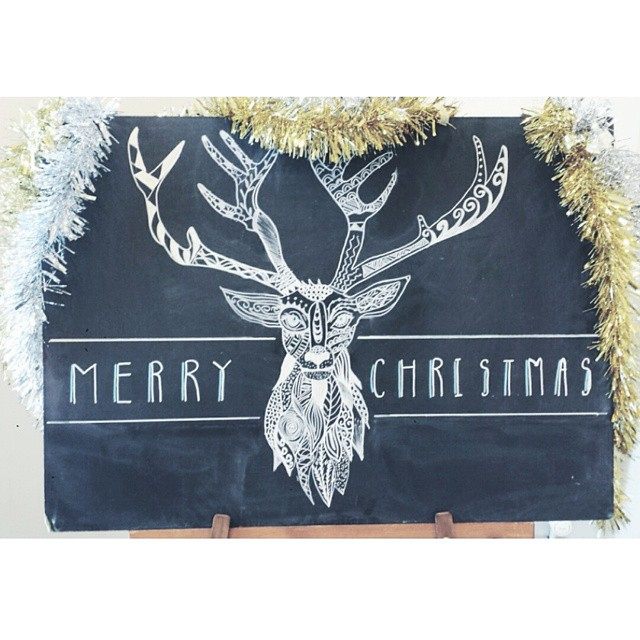 Wishing you all a very merry Christmas //   #MYFOLIO