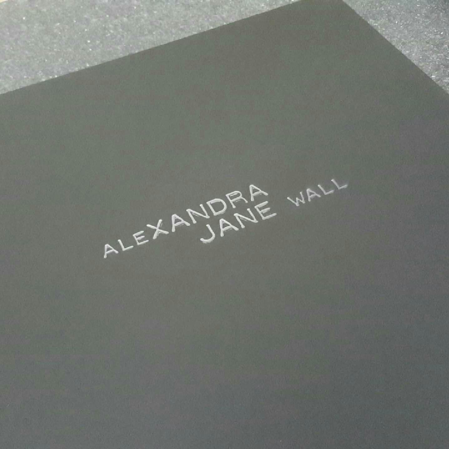 matt black acrylic perspex black display portfolio album with logo engravinghttps://www.my-folio.com/acrylicperspexportfolios/