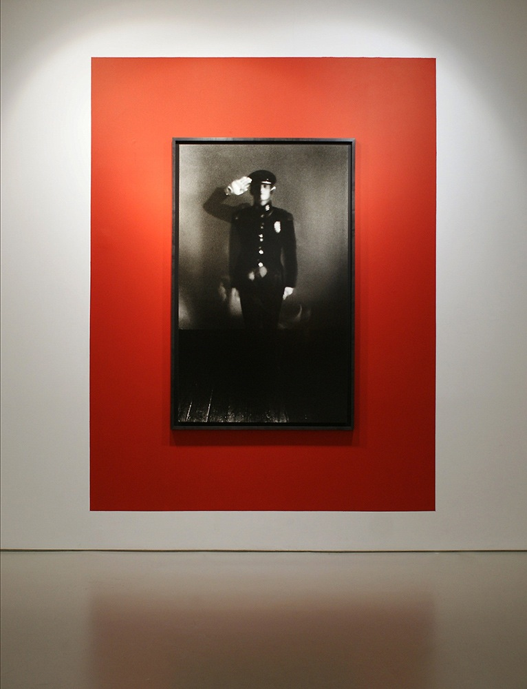 """Unknown Soldier from the series Confessions, 60"""" x 40"""", 2009"""