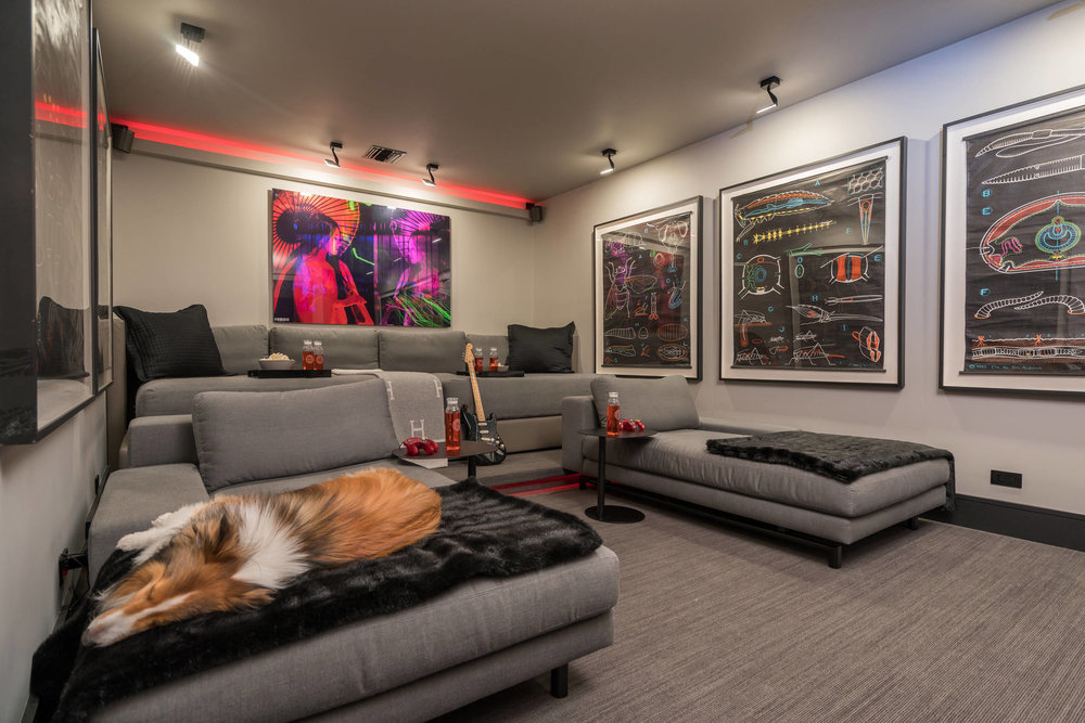 Home Theater, Garage Home Theater