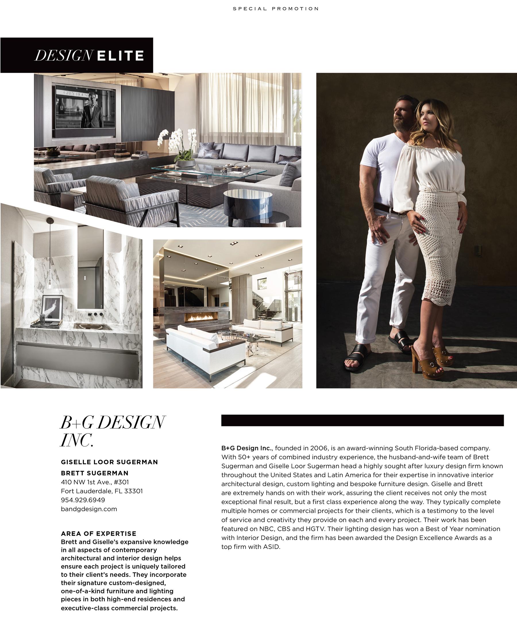 B G Design Inc Luxury Interior