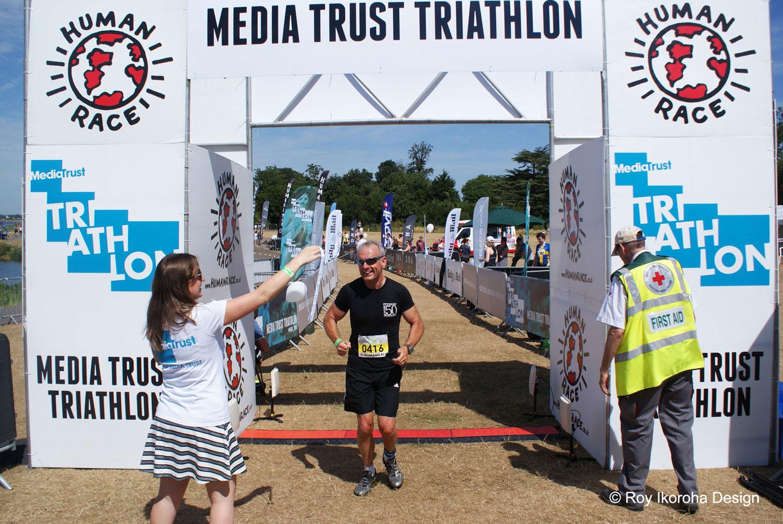 Competitors crossing the finish line |© Roy Ikoroha
