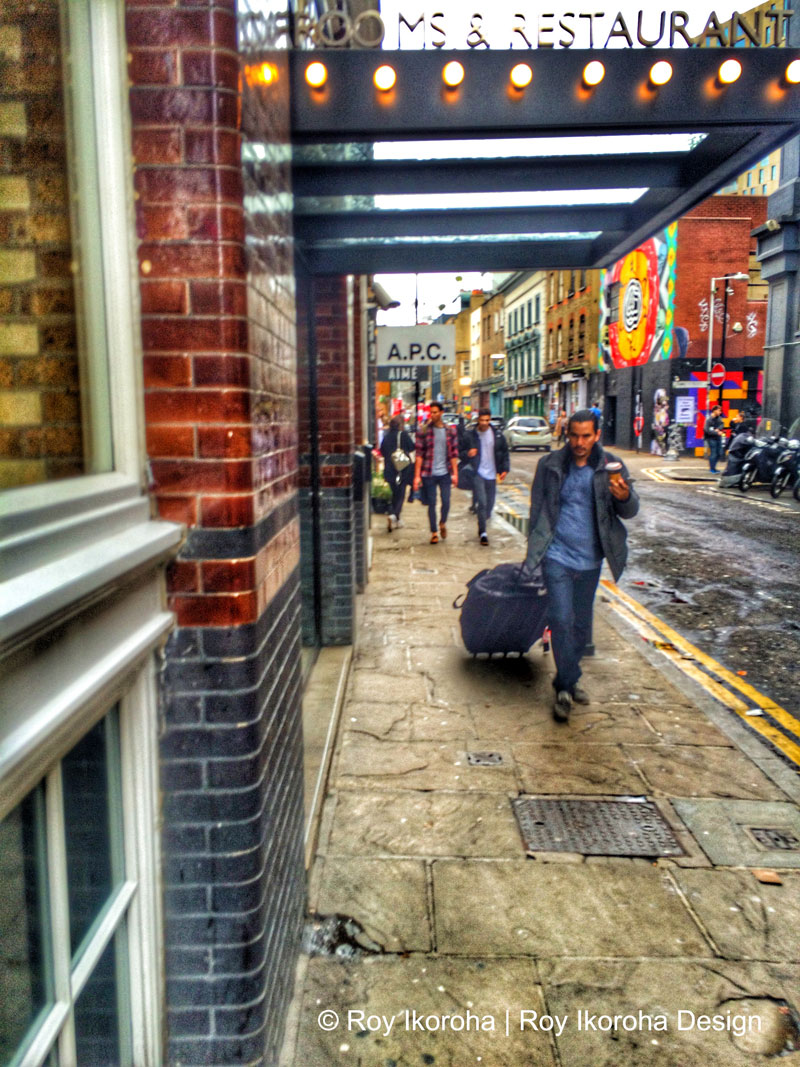 © Roy Ikoroha | Shoreditch | 30/10/15  Photo taken on iPhone 5S & edited with Snapseed