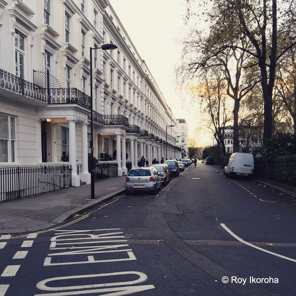 Dawson Place. Notting Hill, London