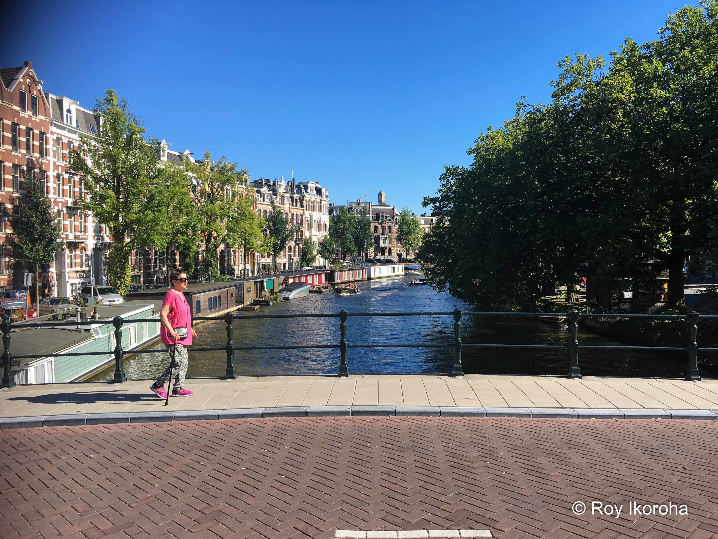 Bridge scenery, Amsterdam, Netherlands