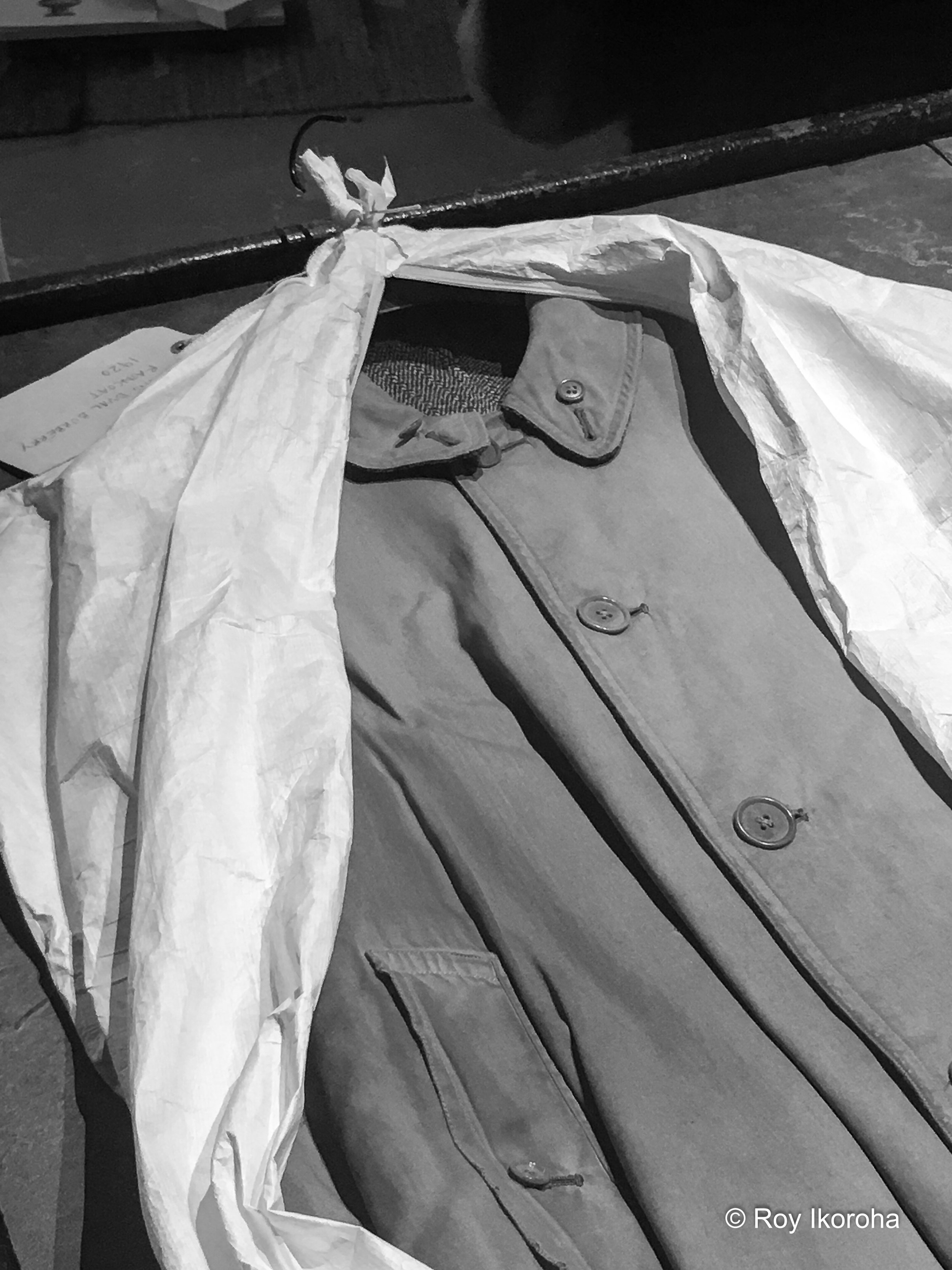The classic Burberry trench coat | Burberry Makers House, Manette Street, London