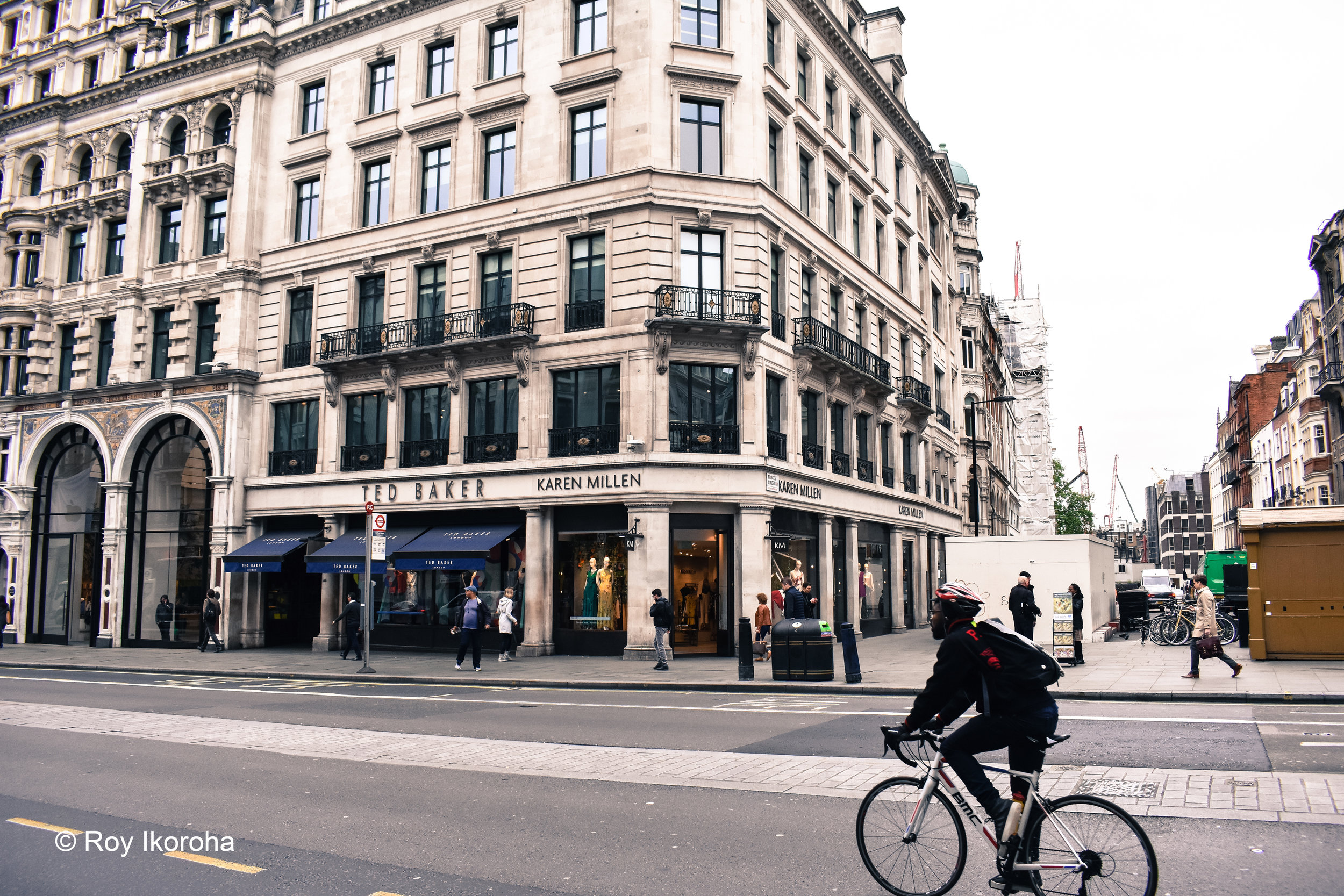 Regent Street, Central London