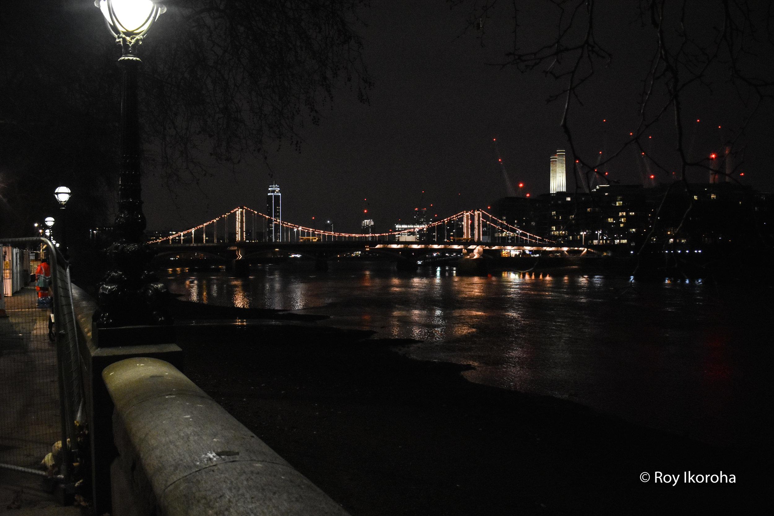 Chelsea Embankment/Bridge, Chelsea, London