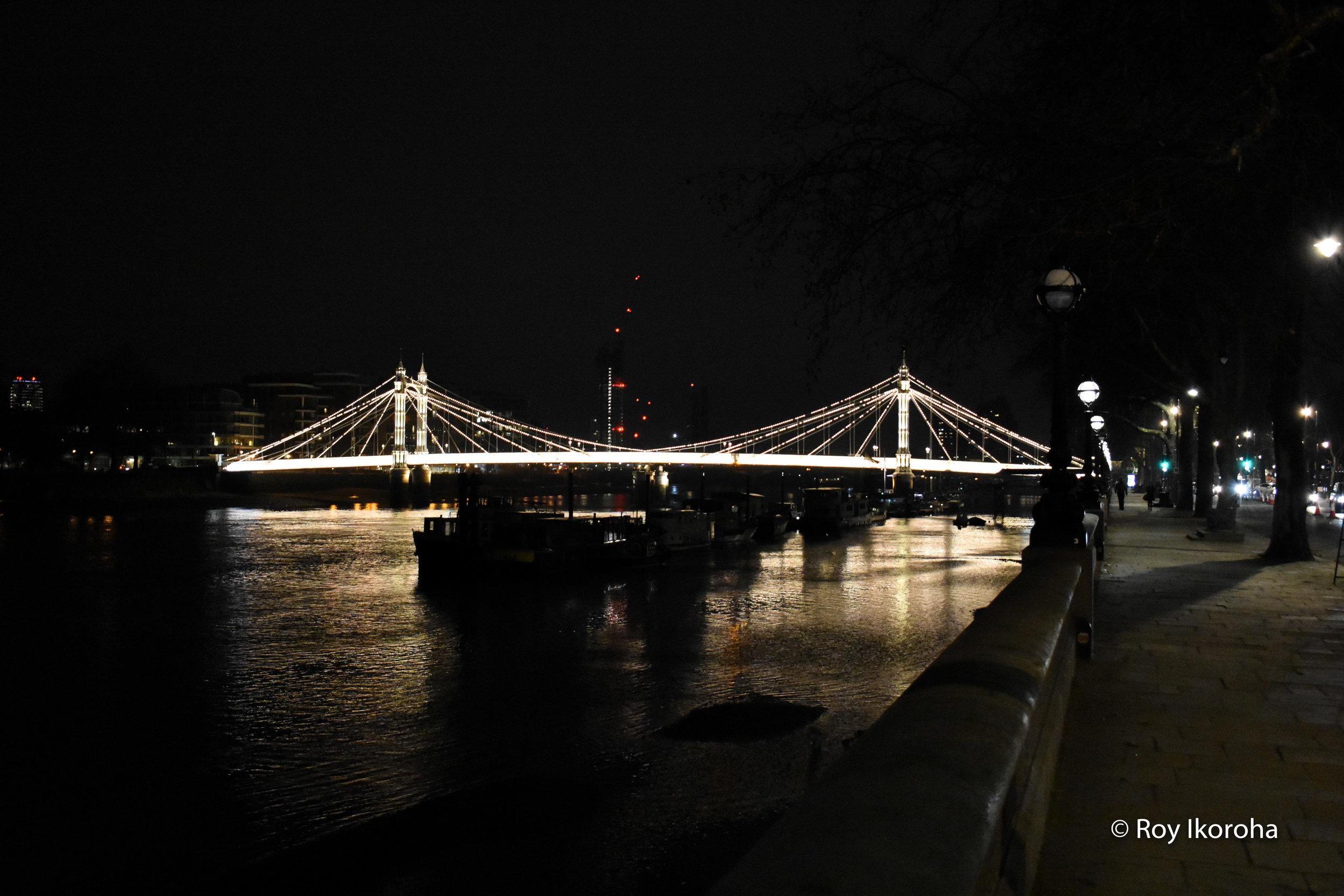 Albert Bridge, Chelsea, London