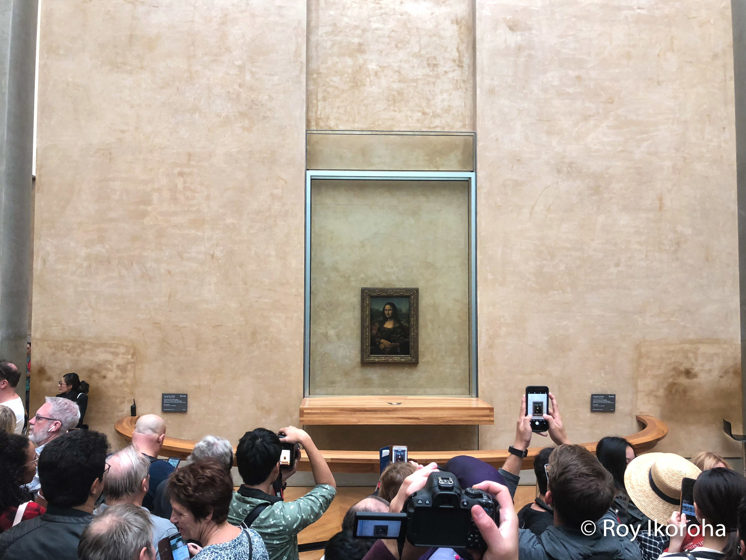 The Mona Lisa artwork, Musee Du louvre, Paris