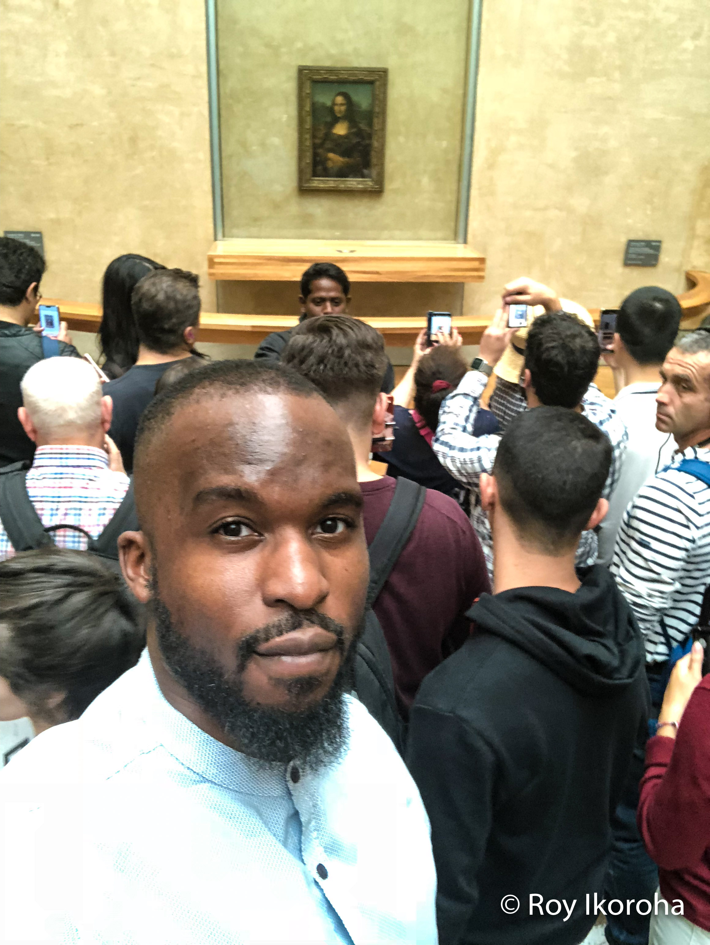 Brilliant vantage point ;)… Musee Du Louvre, Paris