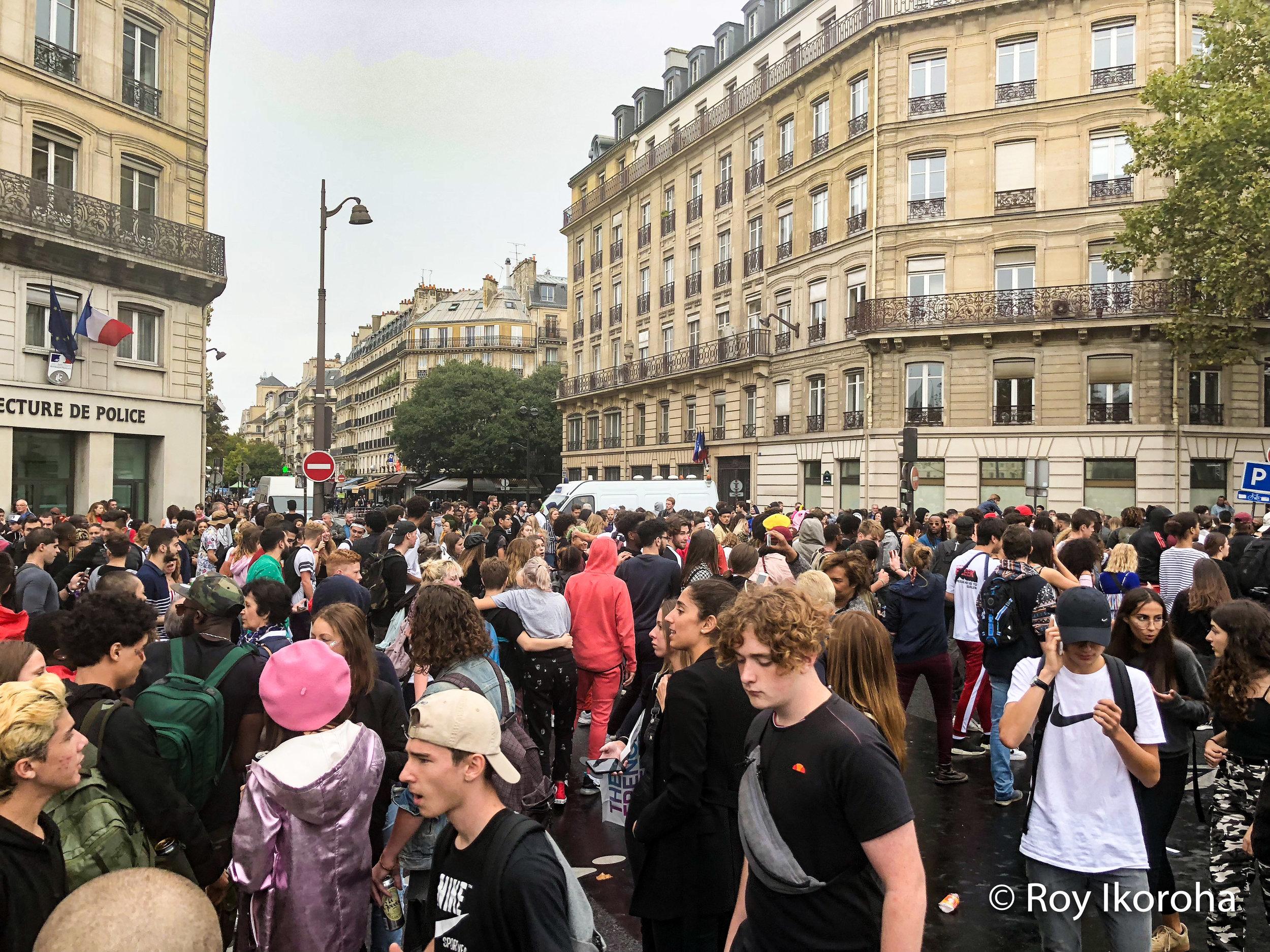 Techno Rave, Paris
