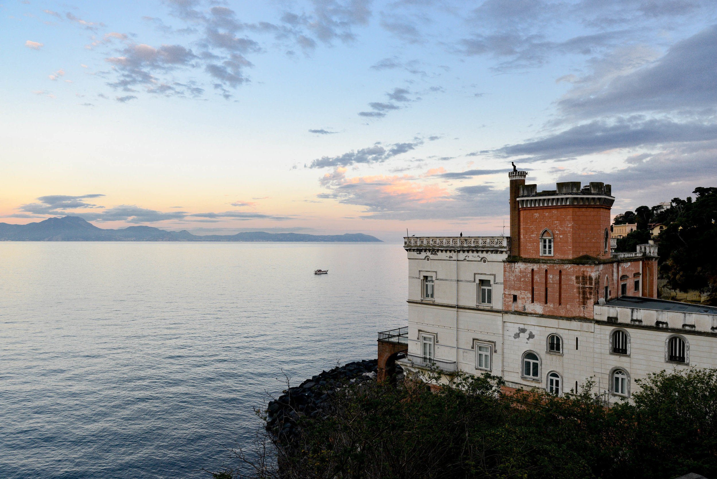 View From the Tower | Posillipo, Italy | Lauren L Caron © 2018