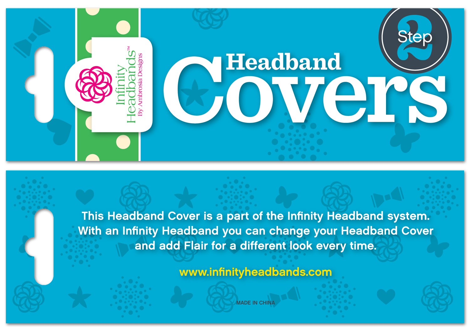 Header Card Front and Back