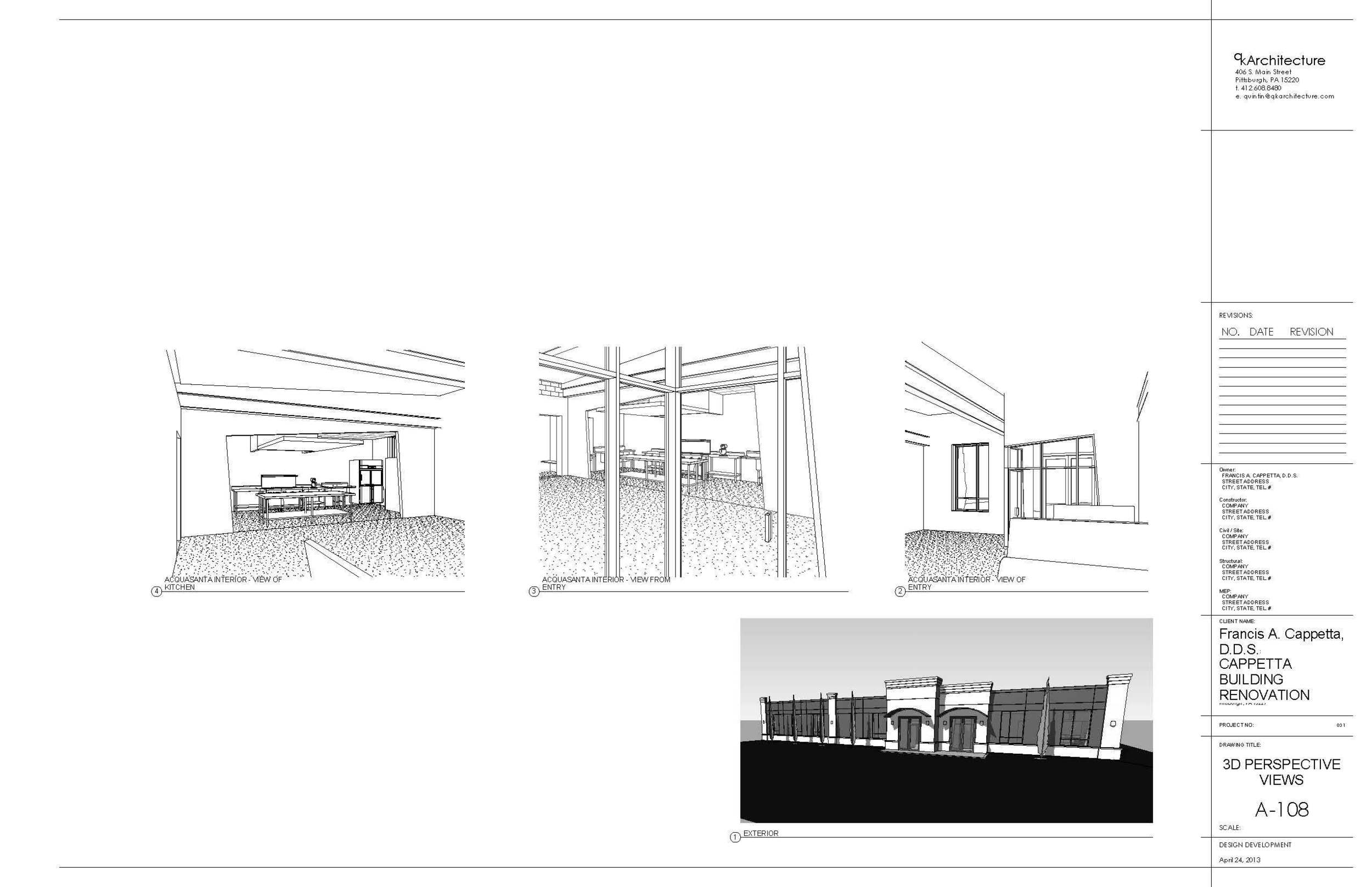 PROCESS: Proposed renovations