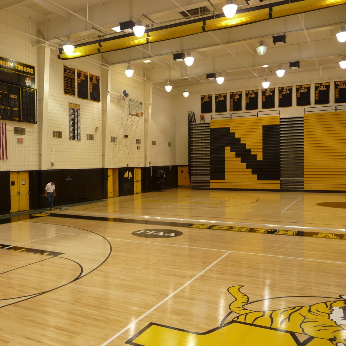 North Allegheny Gymnasium Floor