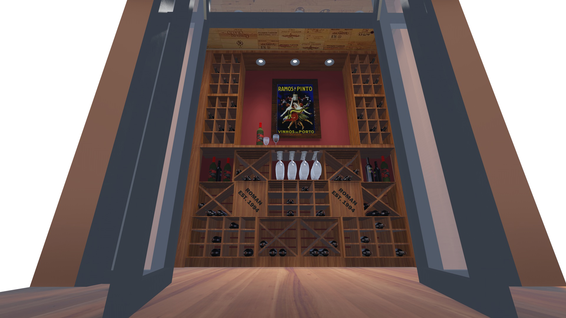 PROCESS: Proposed Wine Cellar Visualization