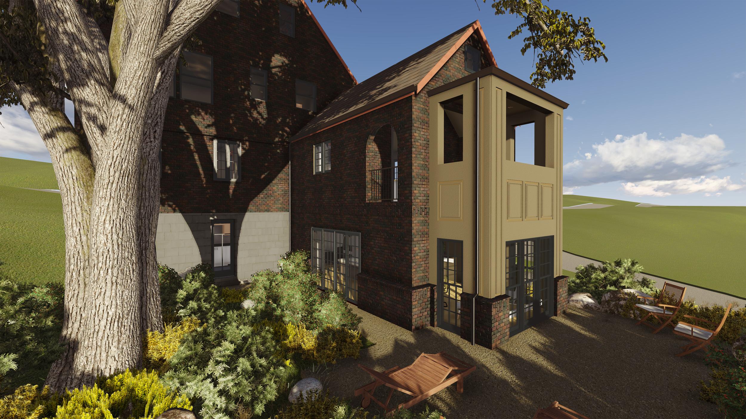 PROCESS: Exterior Finish Design Option 1