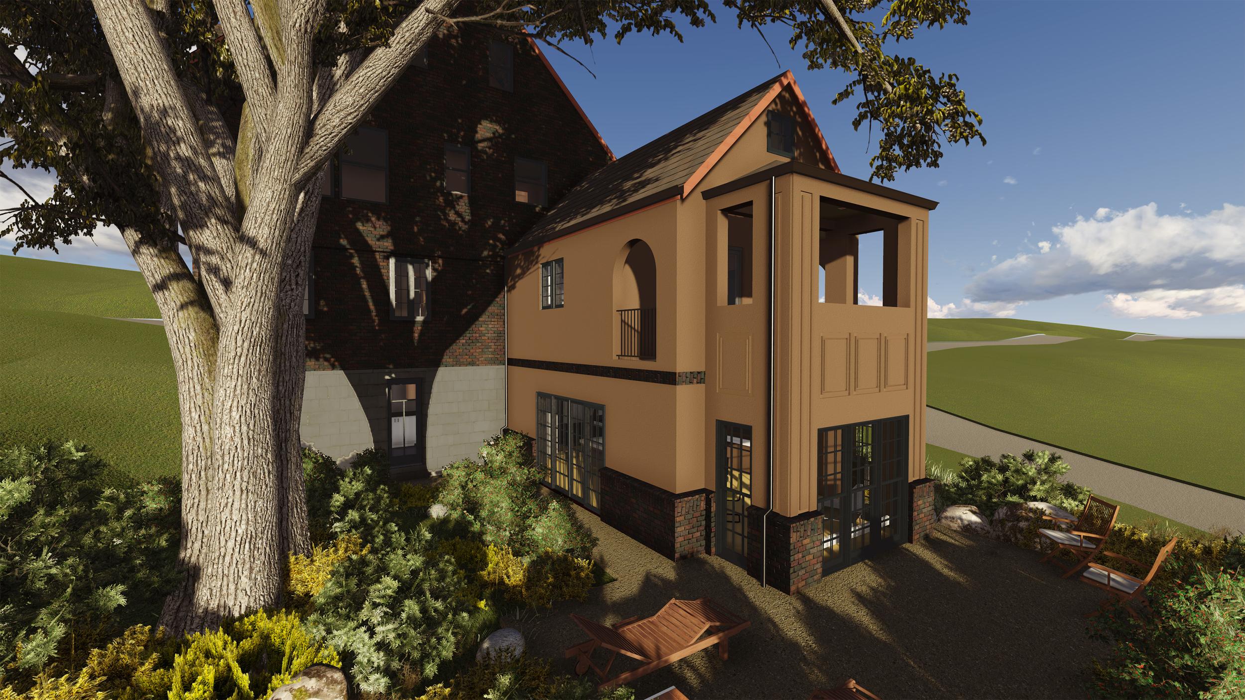 PROCESS: Exterior Finish Design Option 2