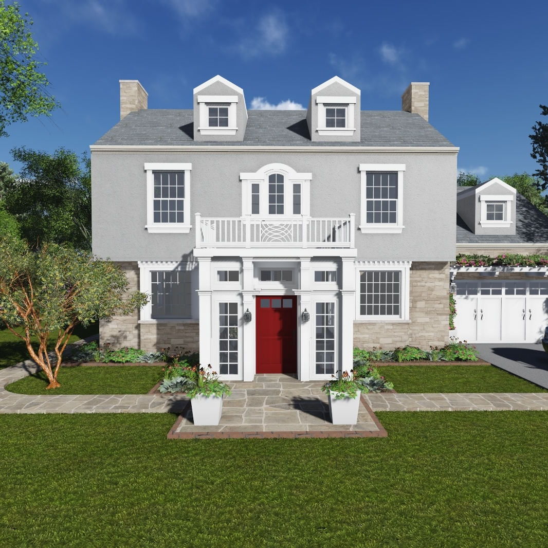 Private Residence Exterior Renovation