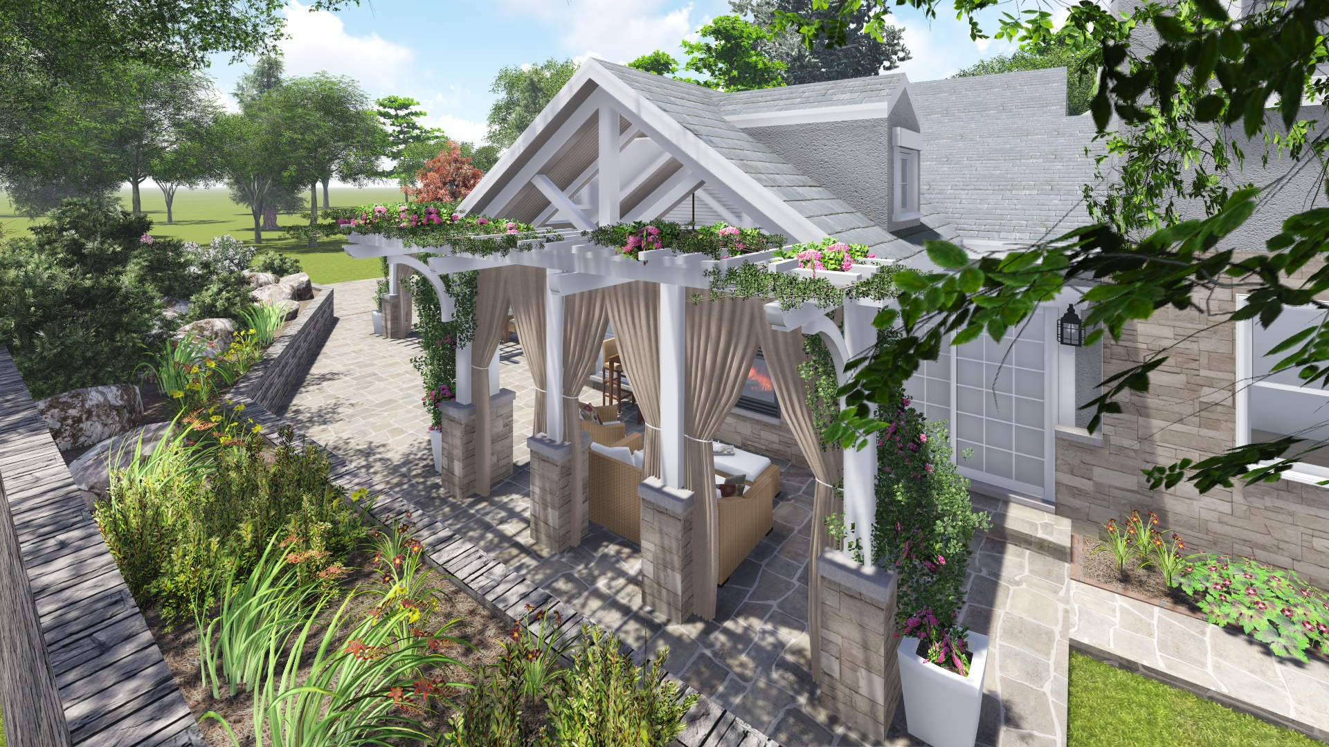 PROCESS: New side porch design option