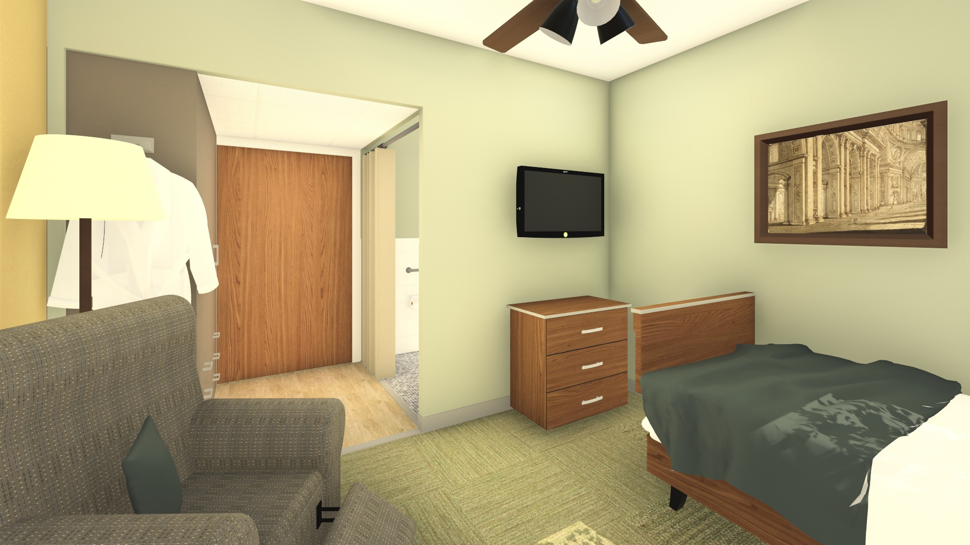 IN PROCESS: Rendering of Proposed Upgrades