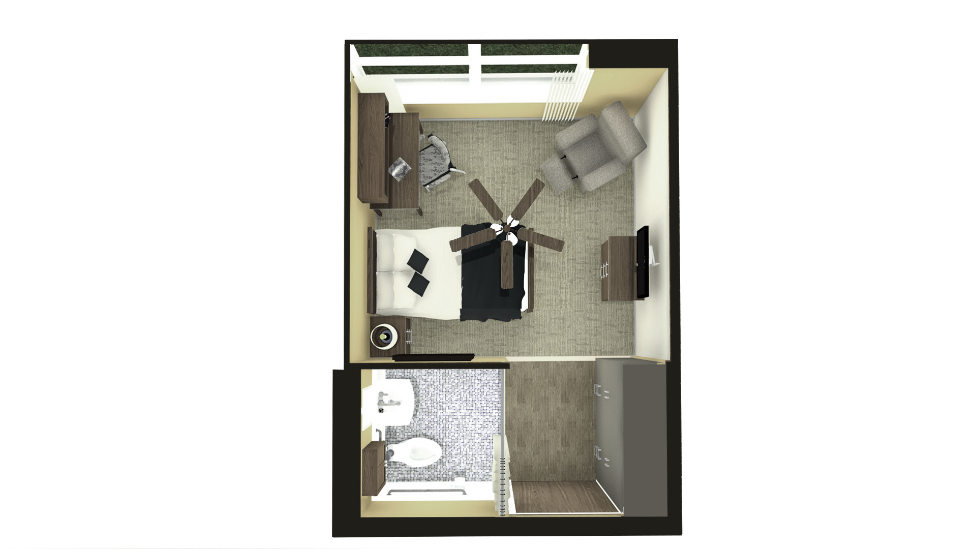 IN PROCESS: Extruded Floor Plan View