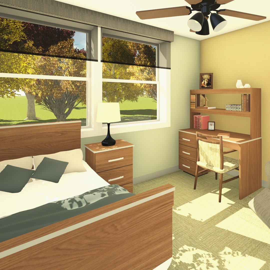 Holy Family Manor Resident Rooms