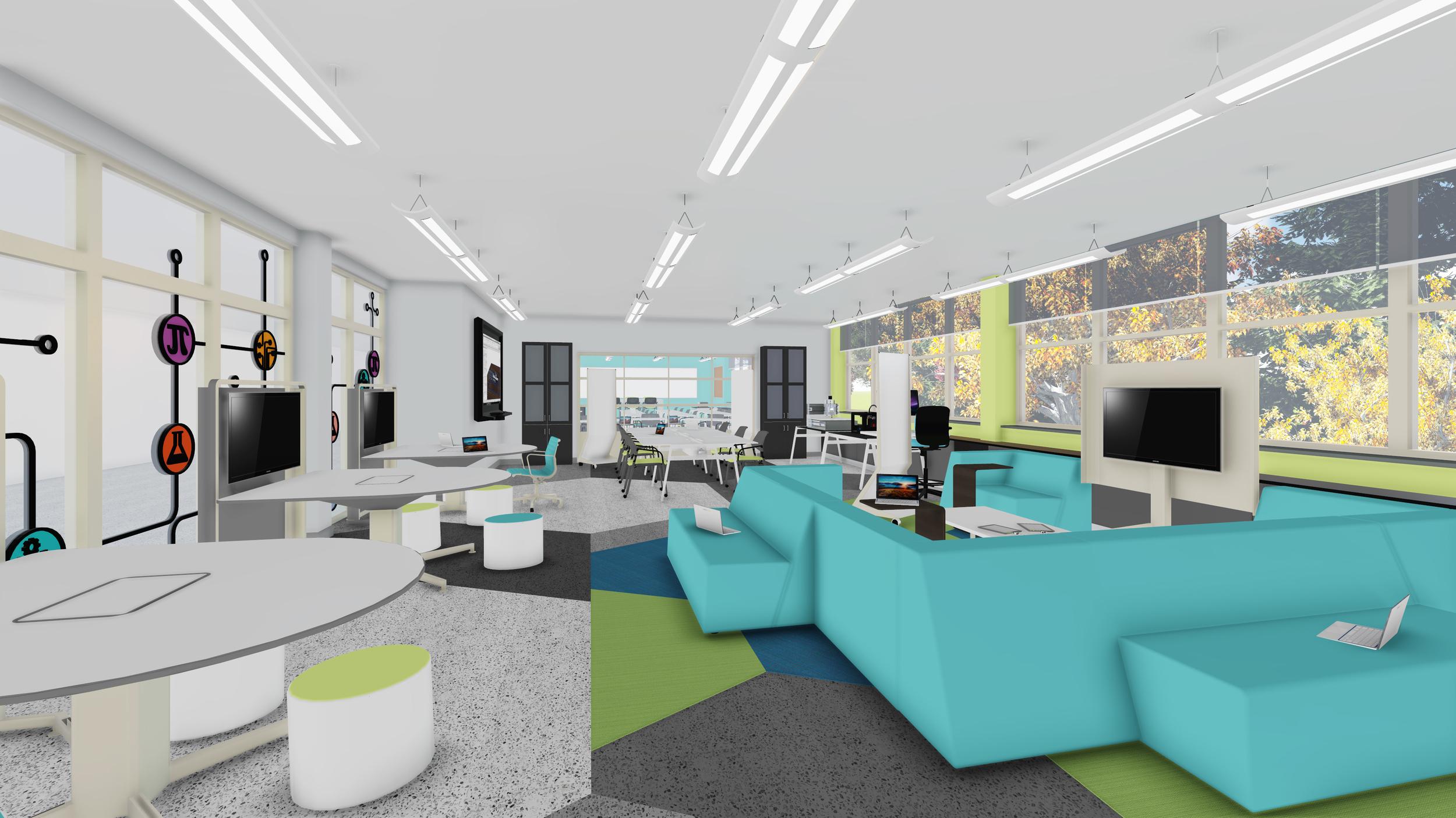 IN PROCESS: Innovation Lab Schematic Design