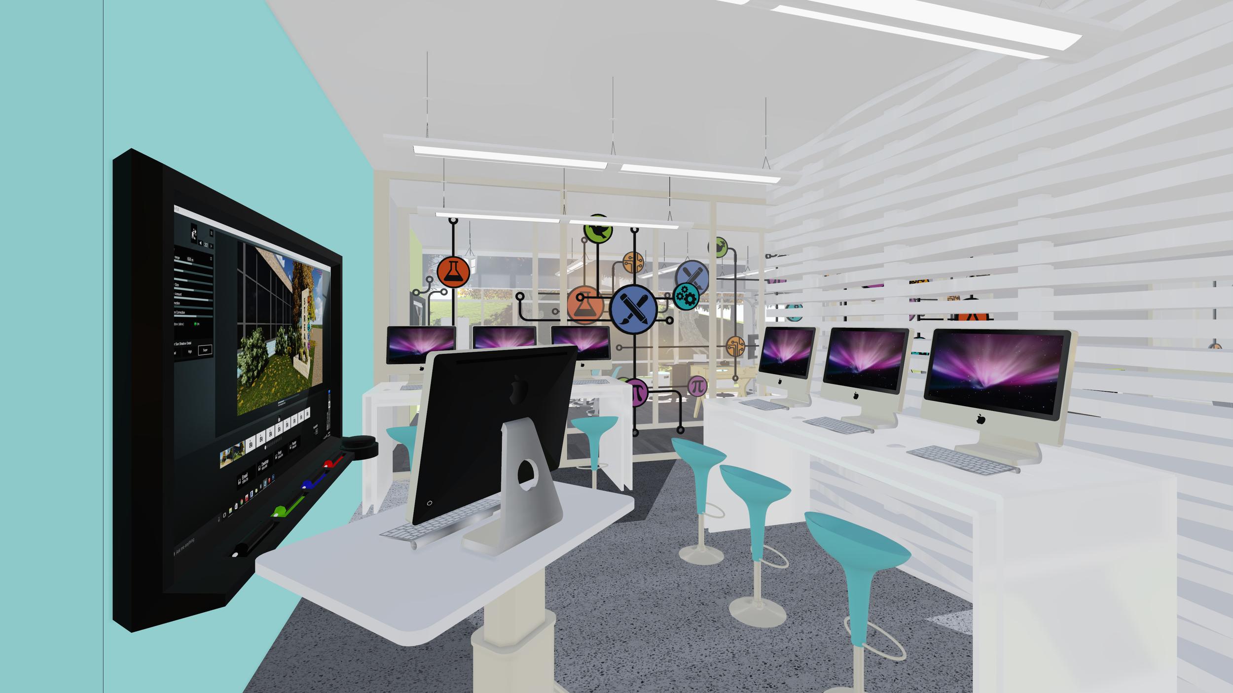 IN PROCESS: STREAM Center Computer Lab
