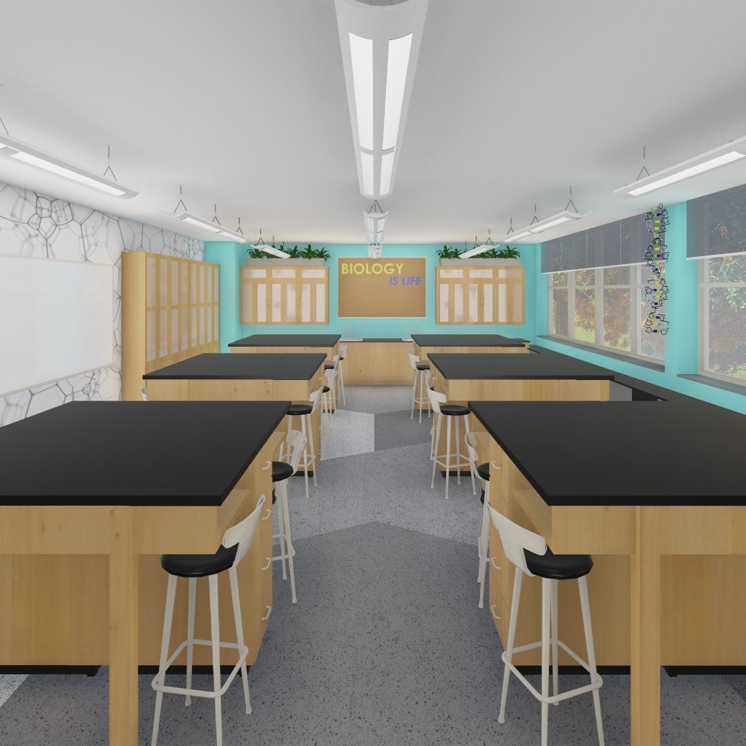 Seton La Salle Science Lab Renovations