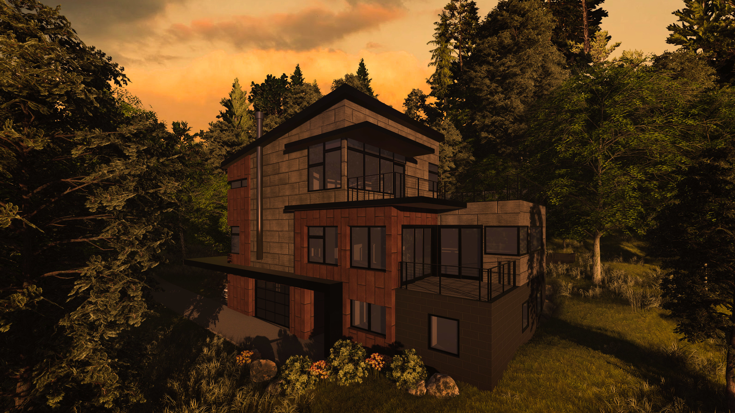 IN PROCESS: Private Residence - West End Overlook