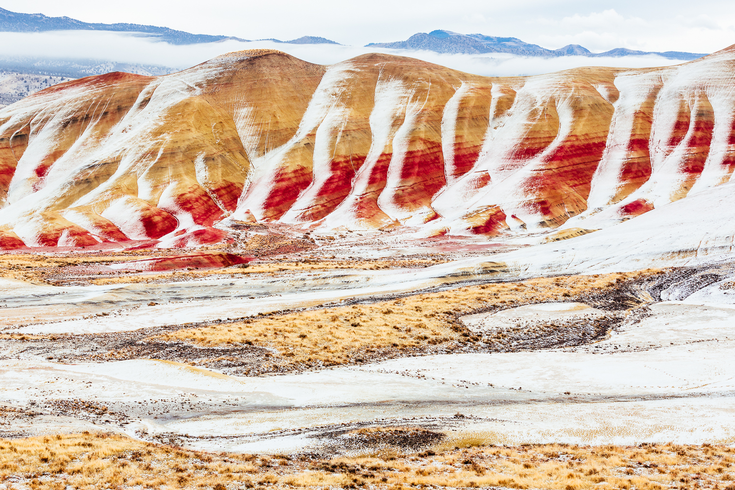 OREGON LANDSCAPES - PAINTED HILLS
