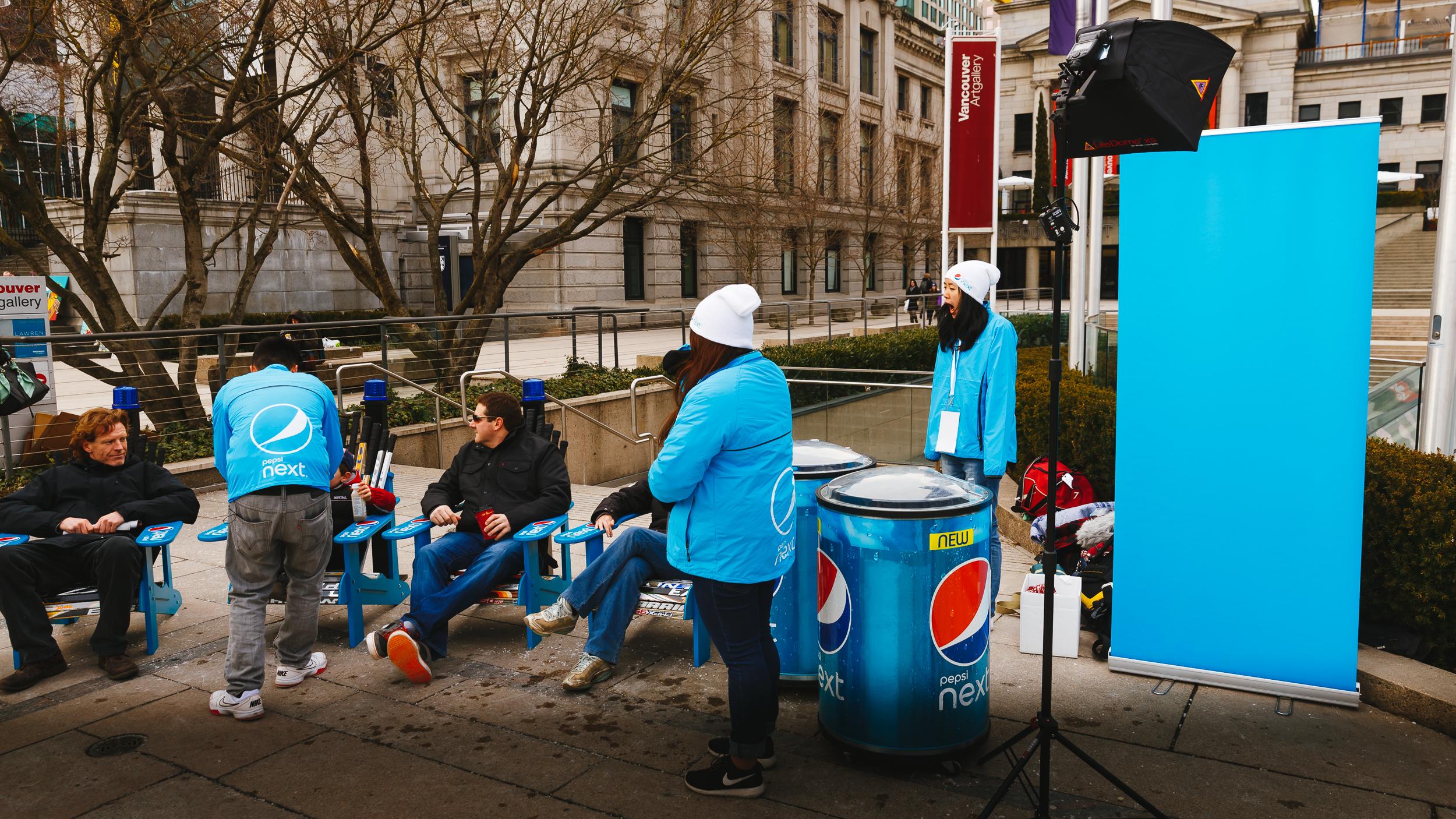 Pepsi Next - Photobooth Setup