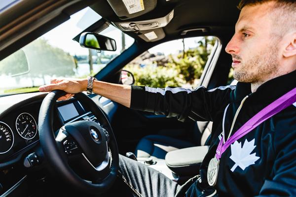 RYAN COCHRANE - OLYMPIC TEAM BMW