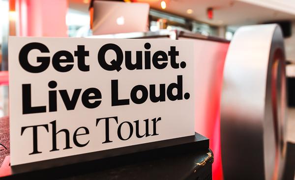LULULEMON - GET QUIET LIVE LOUD TOUR