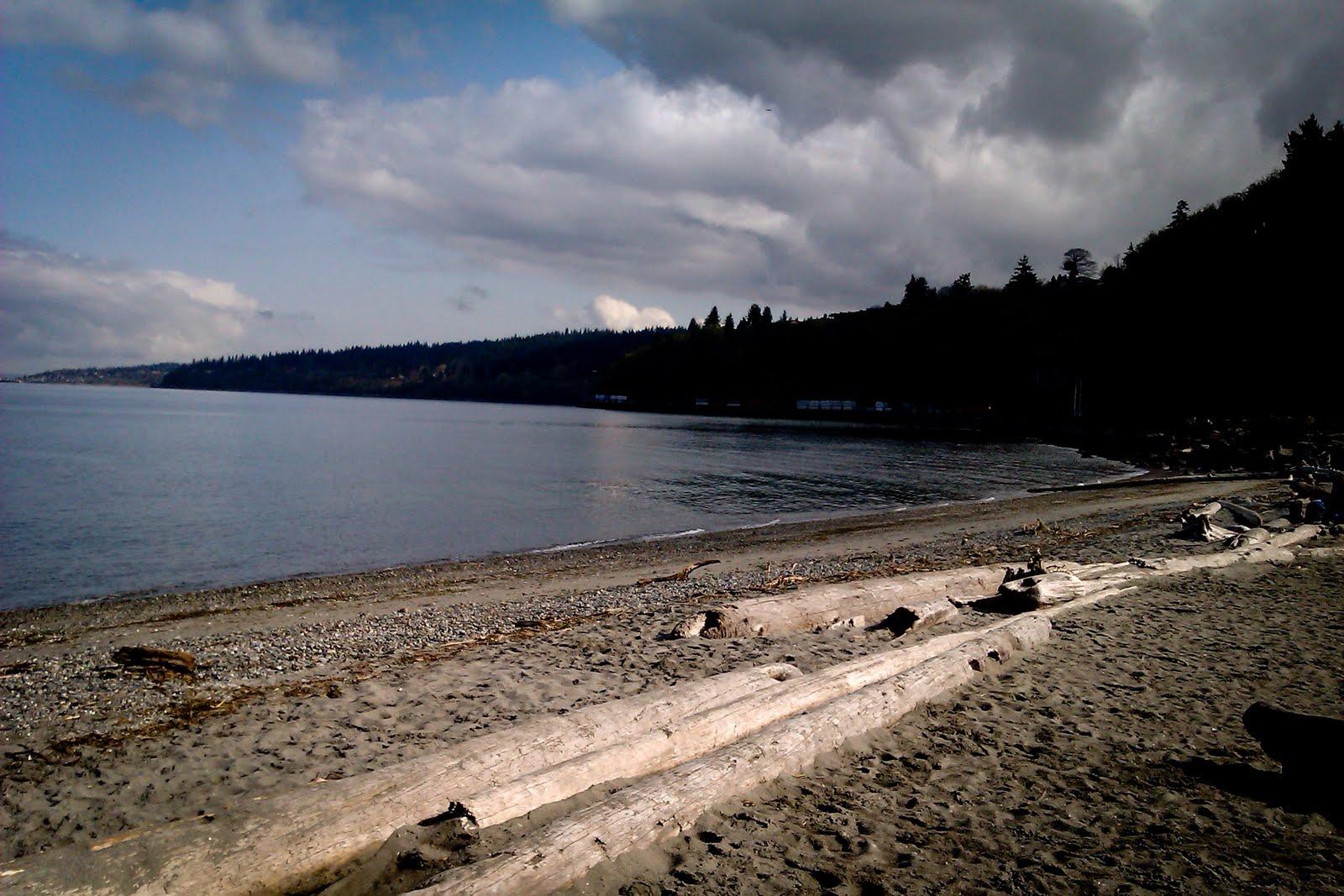 Carkeek's Beach.