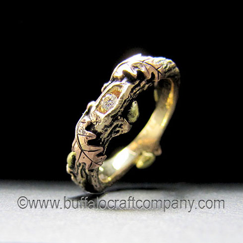 fable-nature-inspired-organic-twig-branch-oak-leaves-engagement-ring-wedding-band