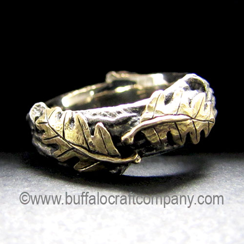 lowland-rustic-nature-inspired-organic-twig-branch-oak-leaves-engagement-ring-wedding-band