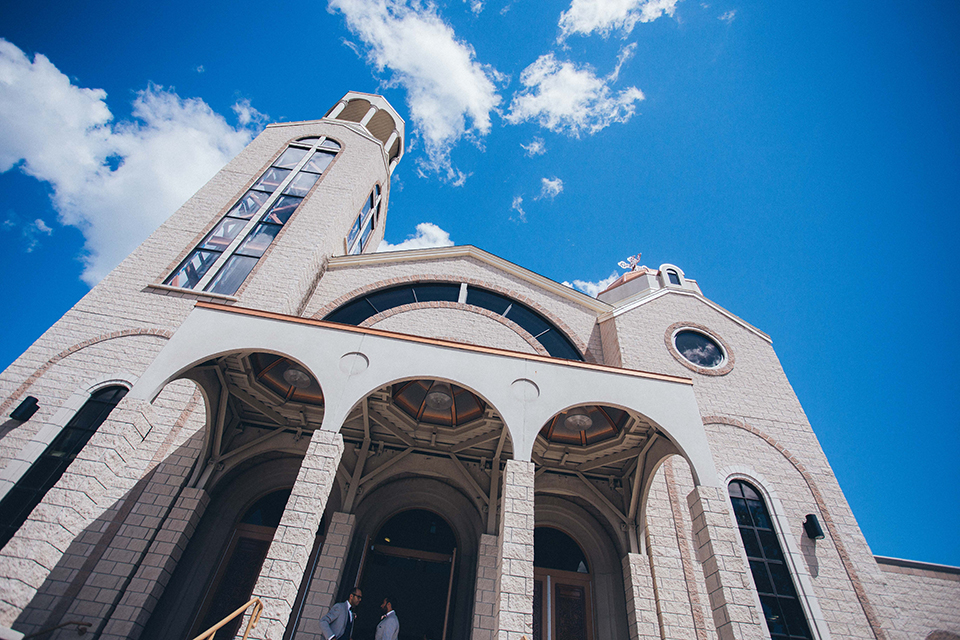 Ceremony held at the beautiful St. George and St. Anthony Coptic Orthodox Church